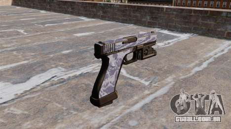 A Pistola Glock De 20 Blue Tiger para GTA 4 segundo screenshot