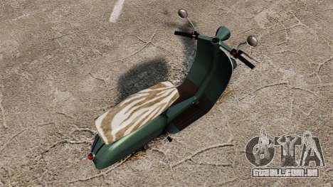 GTA IV TBoGT Pegassi Faggio para GTA 4 traseira esquerda vista