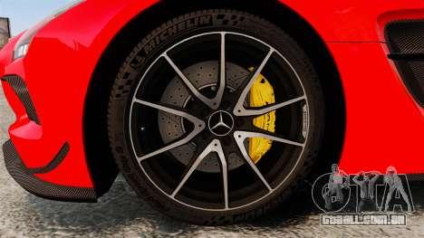 Mercedes-Benz SLS 2014 AMG UAE Theme para GTA 4 vista de volta