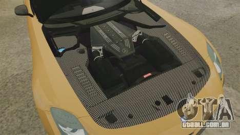 Mercedes-Benz SLS 2014 AMG Performance Studio para GTA 4 vista interior
