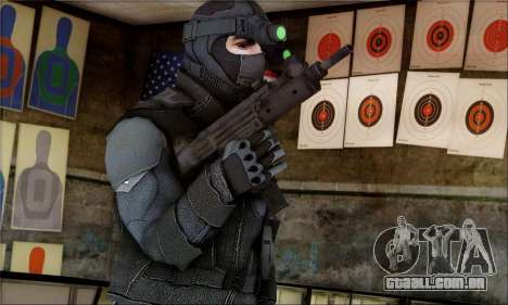 Alfa Team Weapon Pack para GTA San Andreas segunda tela