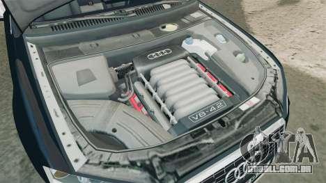Audi S4 Avant TEK [ELS] para GTA 4 vista interior
