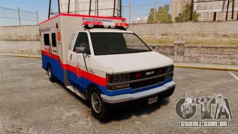 Brute MRSA Paramedic para GTA 4