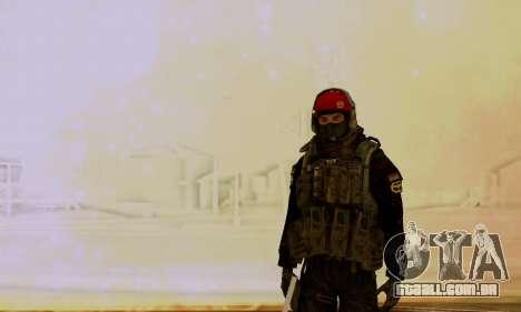 Kopassus Skin 1 para GTA San Andreas terceira tela