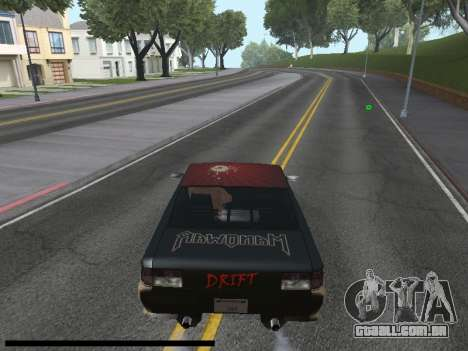Vinis para Sultan para GTA San Andreas vista direita