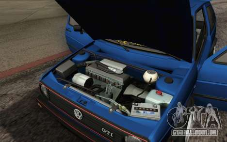 Volkswagen Golf MK2 LowStance para GTA San Andreas vista inferior