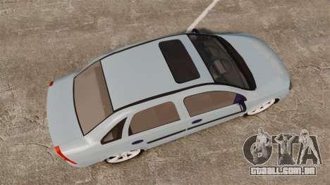 Chevrolet Corsa Premium Sedan para GTA 4 vista direita