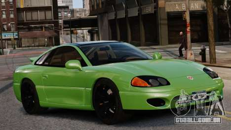 Dodge Stealth Turbo RT 1996 para GTA 4 vista direita