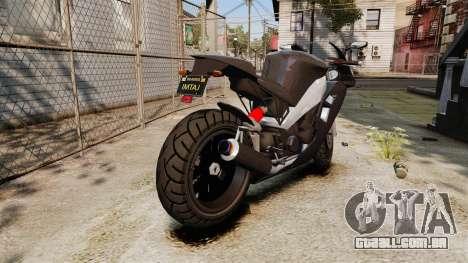 GTA V Nagasaki Carbon RS para GTA 4 vista direita