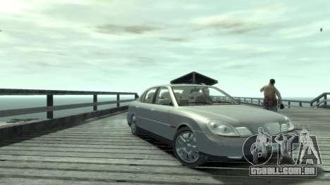 Daewoo Shiraz para GTA 4 traseira esquerda vista