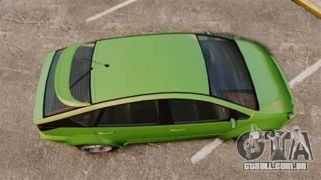 Karin Dilettante new wheels para GTA 4 vista direita