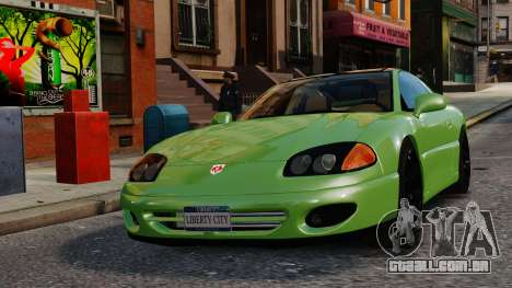 Dodge Stealth Turbo RT 1996 para GTA 4 vista interior