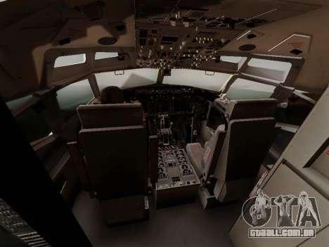 China Southern Airlines Boeing 737-800 para vista lateral GTA San Andreas