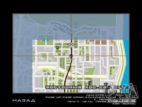 AutoDriver para GTA San Andreas segunda tela