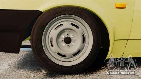 VAZ-Lada 21099 Companheiro para GTA 4 vista de volta