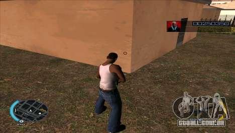 C-HUD Hitman Absolution para GTA San Andreas segunda tela