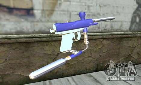 Paintball Gun para GTA San Andreas segunda tela