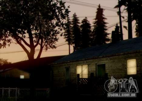 Currently ENB 2.0 para GTA San Andreas segunda tela