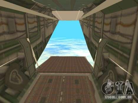 An-22 Antei para GTA San Andreas interior