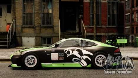 Jaguar XKR GT para GTA 4 esquerda vista