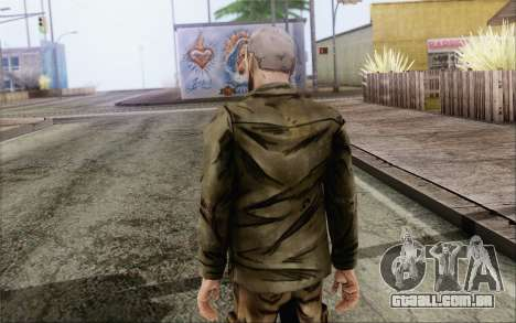 Pete from Walking Dead para GTA San Andreas segunda tela
