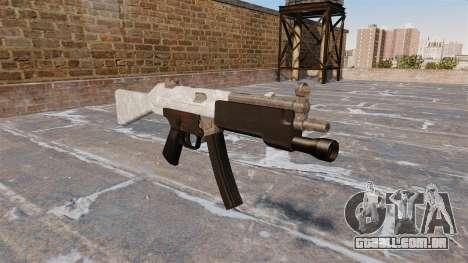 A metralhadora HK MP5 para GTA 4