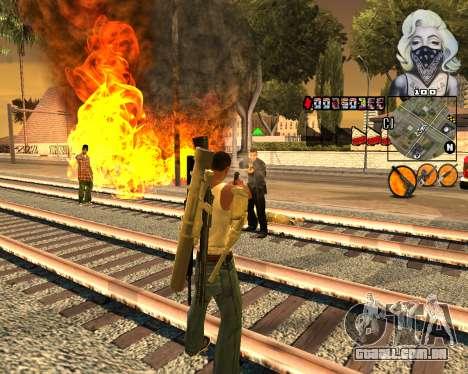 C-HUD Marilyn Monroe para GTA San Andreas segunda tela