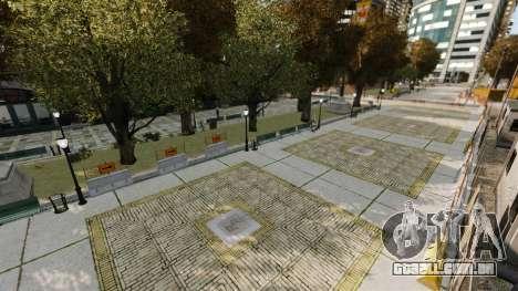 Rua ilegais deriva pista para GTA 4 twelth tela