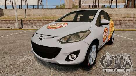 Mazda 2 Pizza Delivery 2011 para GTA 4