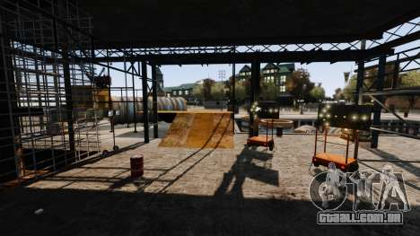 Rua ilegais deriva pista para GTA 4 décima primeira imagem de tela