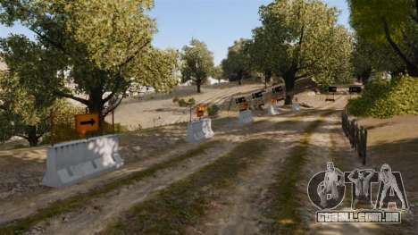 Pista de Rally para GTA 4 segundo screenshot
