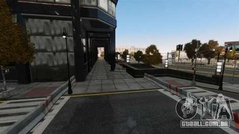 Rua ilegais deriva pista para GTA 4 quinto tela