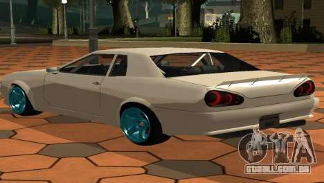 Elegy AssemblY para GTA San Andreas esquerda vista