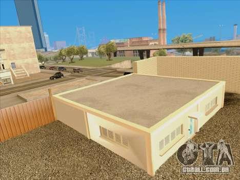 Atualizado texturas escola de condução para GTA San Andreas por diante tela