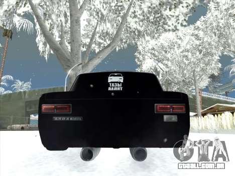 ВАЗ 2101 Ajuste de Estilo para GTA San Andreas vista direita