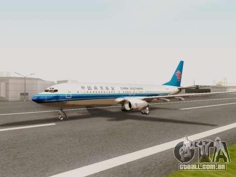 China Southern Airlines Boeing 737-800 para GTA San Andreas