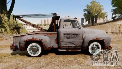 GTA IV TLAD Vapid Tow Truck para GTA 4 esquerda vista