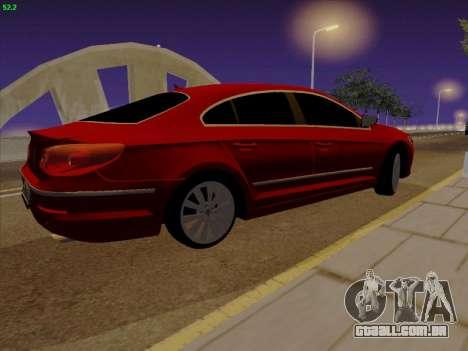 Volkswagen Passat CC para GTA San Andreas esquerda vista