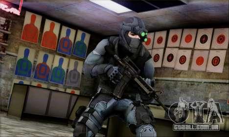 Alfa Team Weapon Pack para GTA San Andreas quinto tela
