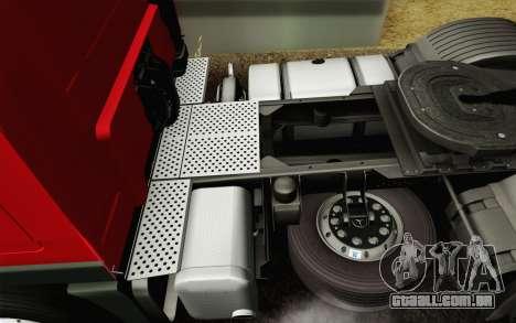 Mercedes-Benz Actros para GTA San Andreas interior
