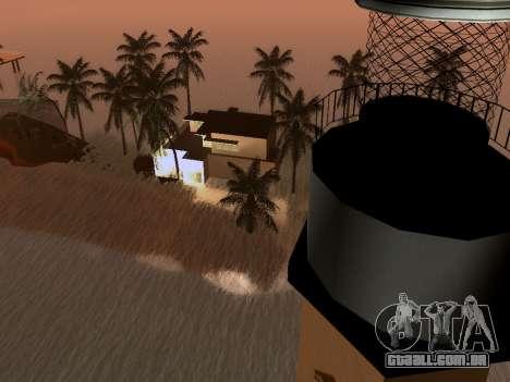 Nova ilha v1.0 para GTA San Andreas décimo tela
