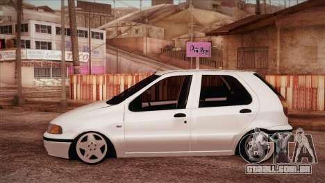 Fiat Palio BKModifiye para GTA San Andreas esquerda vista