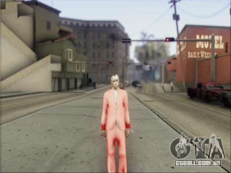 GTA V Masks para GTA San Andreas por diante tela