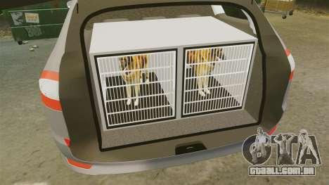 Ford Mondeo Hungarian Police [ELS] para GTA 4 vista lateral