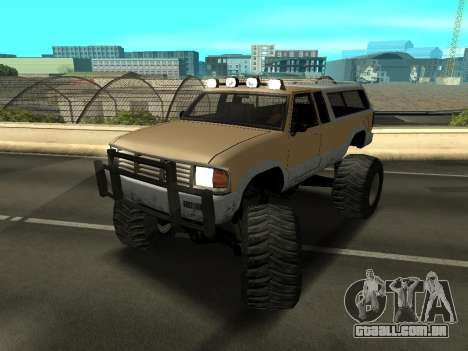Novo Monstro para GTA San Andreas