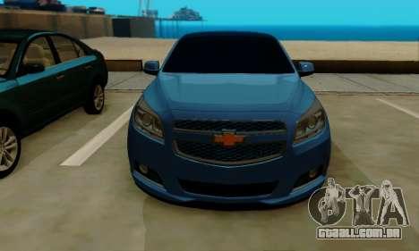 Chevrolet Malibu para GTA San Andreas esquerda vista