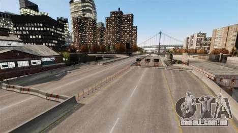 Rua ilegais deriva pista para GTA 4 sexto tela