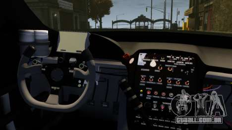 Jaguar XKR GT para GTA 4 vista interior
