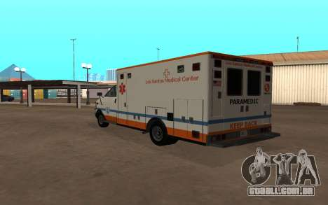 GTA 5 Ambulance para GTA San Andreas vista direita