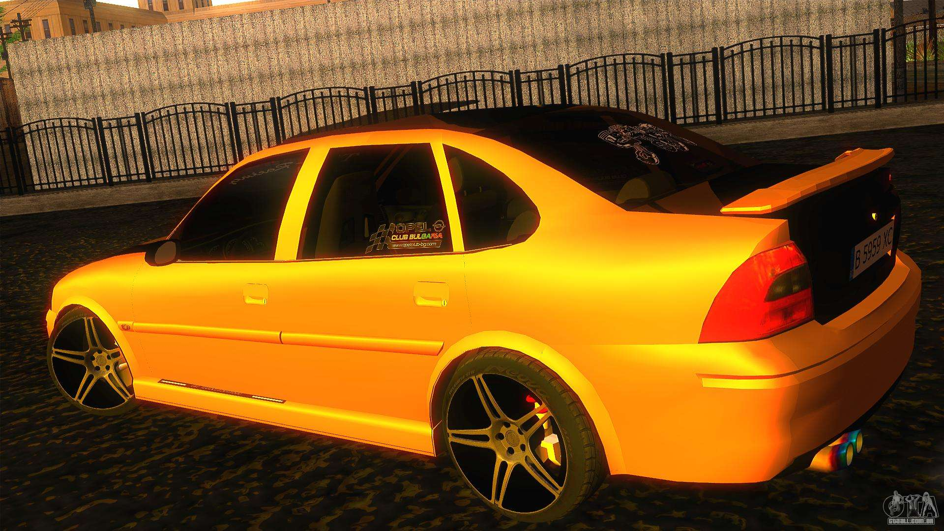 opel vectra b tuning para gta san andreas. Black Bedroom Furniture Sets. Home Design Ideas